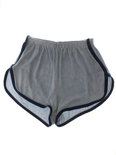 1970's Mens Terry Cloth Gym Shorts