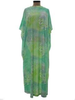 1970's Womens Caftan Dress