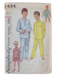 1950's Mens Childs Pattern