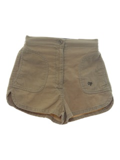 1980's Womens Ocean Pacific Corduroy Shorts