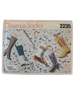 1970's Christmas Craft Pattern