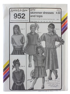 1990's Womens Girls Pattern