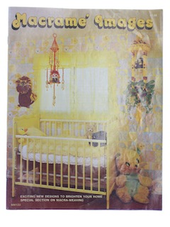 1970's Craft Macrame Pattern Book