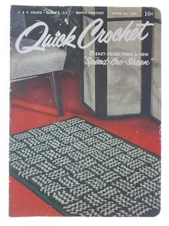 1950's Craft Crochet Pattern Book