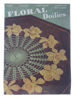 1940's Craft Crochet Pattern Book
