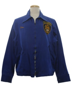 1950's Mens Teamster Zip Jacket