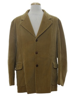 1970's Mens Corduroy Leisure Jacket