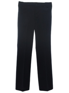 1970's Mens Flared Leisure Style Work Pants