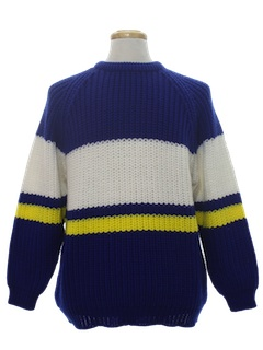 1980's Mens Totally 80s Pullover Sweater
