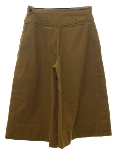 1960's Womens Culottes Shorts