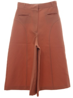 1970's Womens Culottes Shorts