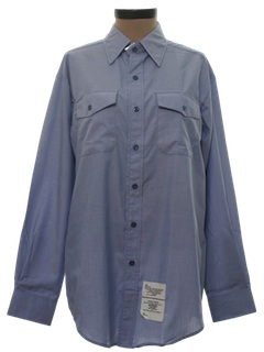 1980's Womens Work Shirt