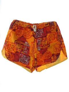 1960's Mens Hawaiian Board Shorts