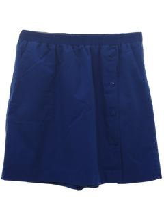 1980's Womens Skort Shorts