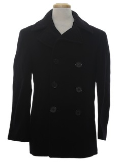 1950's Mens Pea Coat Jacket