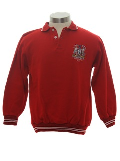 1980's Unisex Knit Team Shirt