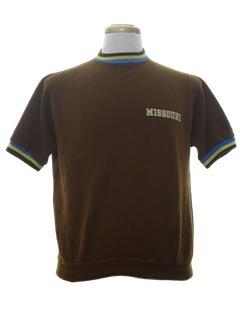 1960's Mens Mod Sweatshirt