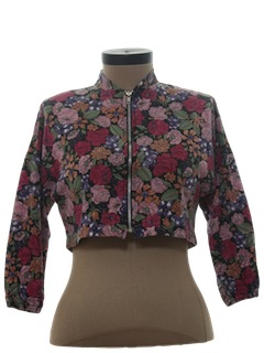 1980's Womens Totally 80s Shirt Jacket