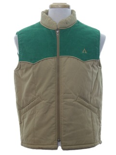 1980's Mens Totally 80s Ski Vest