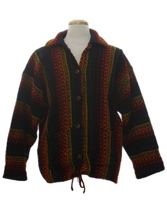 1980's Unisex Wool Hippie Sweater