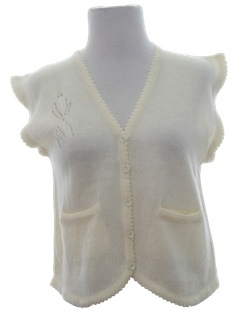 1960's Womens Sweater Vest