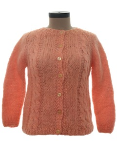 1960's Womens Cardigan Sweater