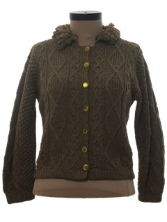1950's Womens Cardigan Sweater