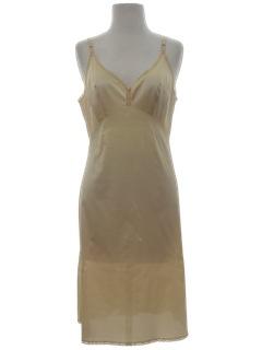 1970's Womens Lingerie Slip