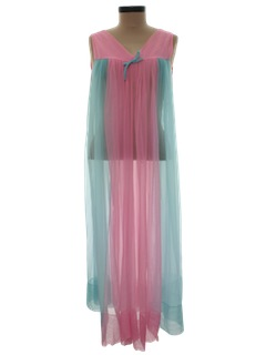 1970's Womens Lingerie Nightgown Dress