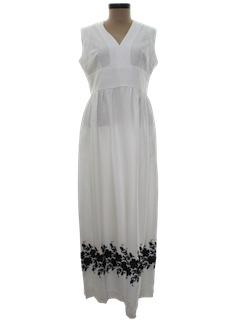 1970's Womens Maxi Dress