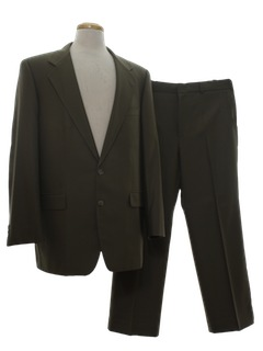 1980's Mens Tailored Suit