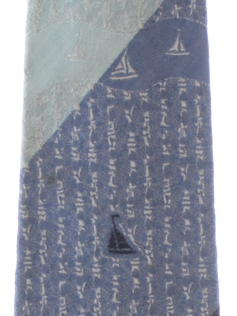 1960's Mens Nautical Necktie