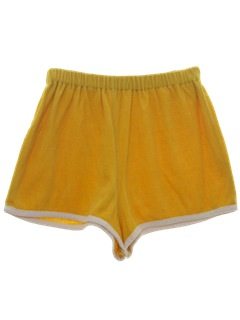 1970's Mens Terry Cloth Sport Shorts