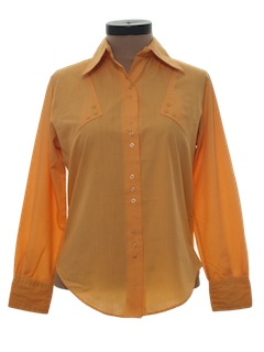 1970's Womens Mod Shirt