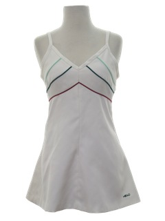 1970's Womens Mini Tennis Dress