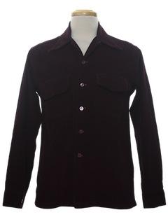 1940's Mens Corduroy Sport Shirt
