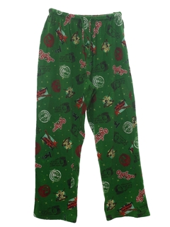 1990's Unisex Christmas Pants to Wear With Your Ugly Christmas Sweater