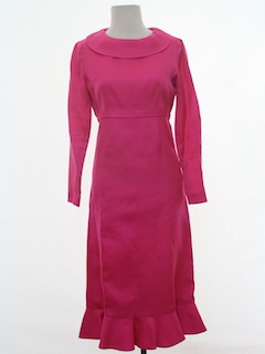 1960's Womens Mod Designer Cocktail Dress