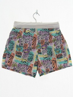 1980's Womens Totally 80s Short Shorts