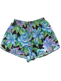1980's Womens Running Shorts