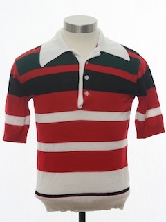 1980's Mens/Boys Knit Shirt