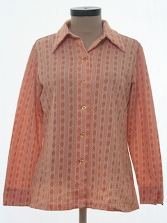 1970's Womens Knit Shirt