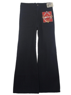 1980's Mens Navy Issue Bellbottom Jeans Pants