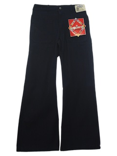 1970's Mens Navy Issue Bellbottom Jeans Pants
