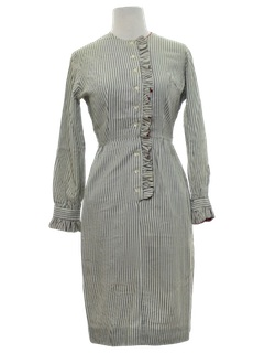 1960's Womens Mod Secretary Dress