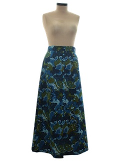 1960's Womens Hippie Style Skirt