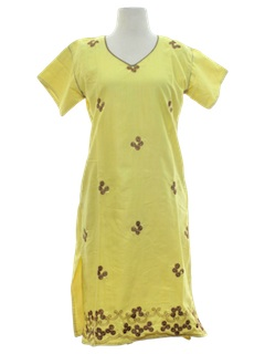 1990's Womens Salwar Kameez Tunic Dress