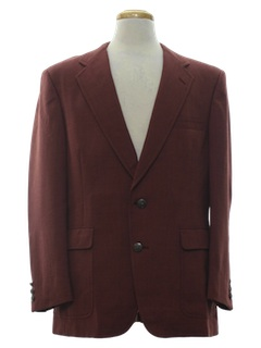 1970's Mens Shark Skin Blazer Jacket