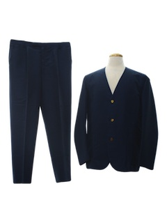 1960's Mens Beatles Style Mod Suit