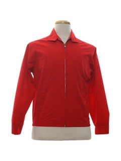 1960's Mens Zip Golf Jacket